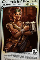 Mardy Rae, Tavern Owner - Hesirion by hesir