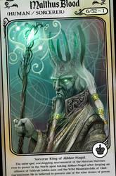 Malthus Blood, Sorcerer King - Hesirion by hesir
