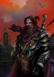 Berengar Shoal, Dark Paladin - Hesirion by hesir