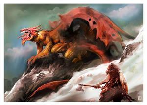 Dragon and Dragon Slayer
