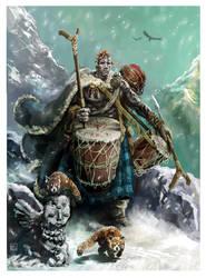 Dagu  the Goliath Bard