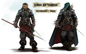 Jedhua halVenghazi - Swashbuckler Rogue