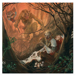 Pumat Sol and the Hunter Wolf