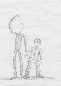 Slenderman and Masky