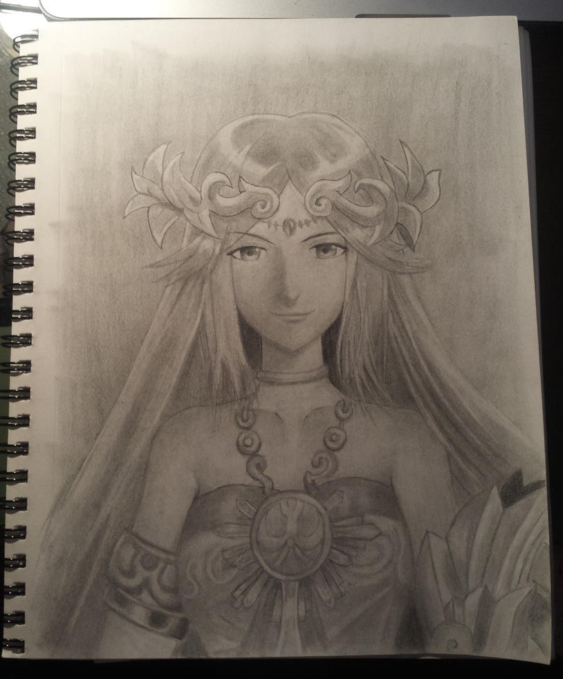 Palutena by AutumnHawk