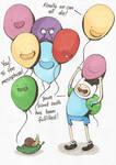 Adventure Time Balloons