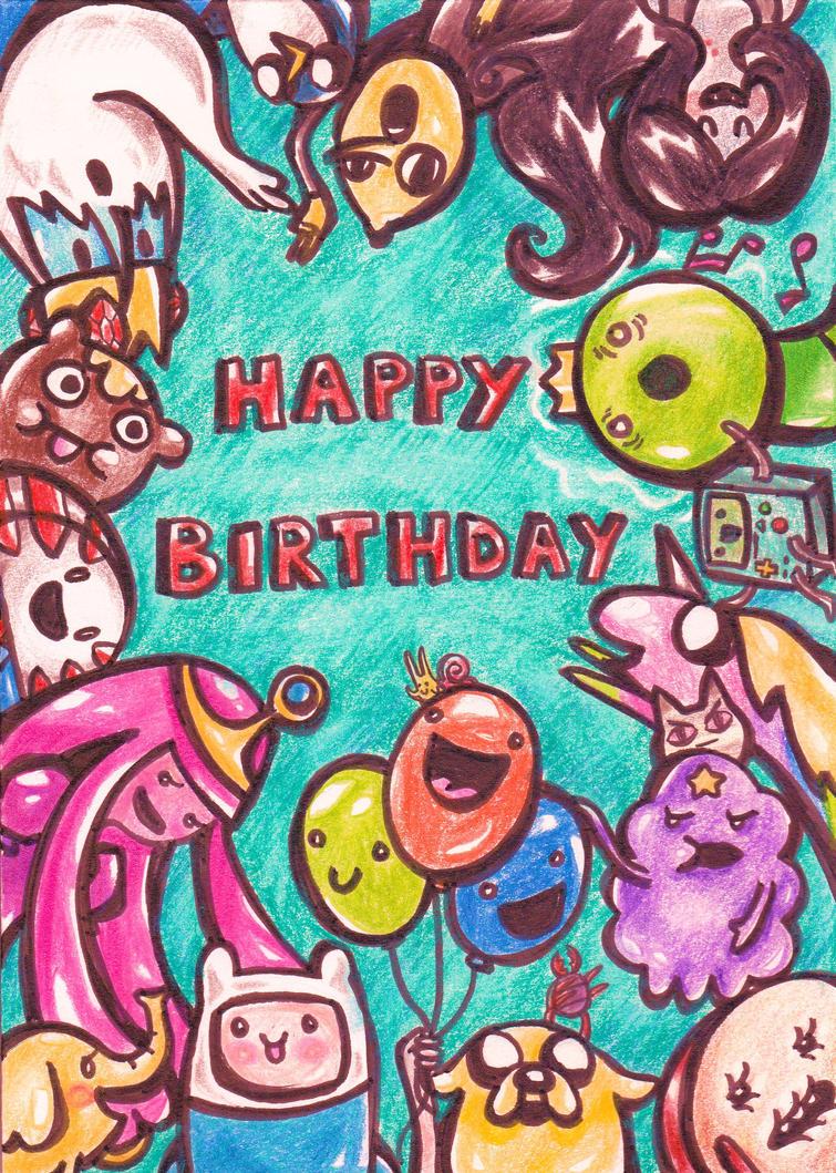 It's Birthday Time! by OoOdanaOoO