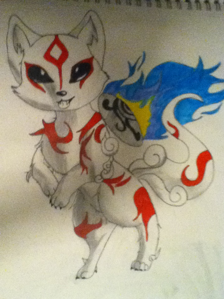 Ammy Idk what her name is by SkyeAngel-gone-Rouge