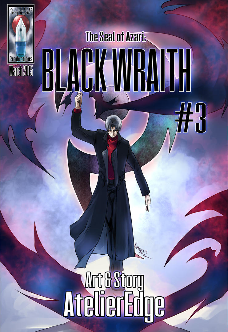 The Seal of Azari: Black Wraith #3 by AtelierEdge