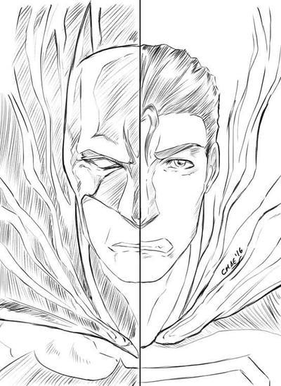 Batman vs Superman  by AtelierEdge