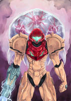 Metroid: Samus Aran by AtelierEdge
