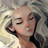 Sleeping Dragon by samuelyounart