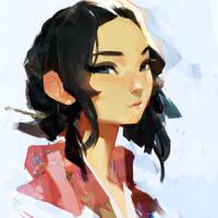 Korean Princess by samuelyounart