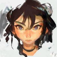 Ghost girl by samuelyounart