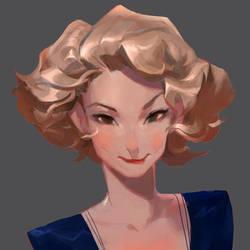 Queenie by samuelyounart
