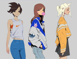 Overwatch fashion week