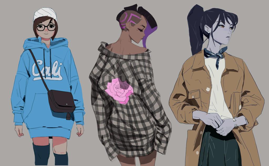 Overwatch Fashion Week 2 By Samuelyounart On Deviantart