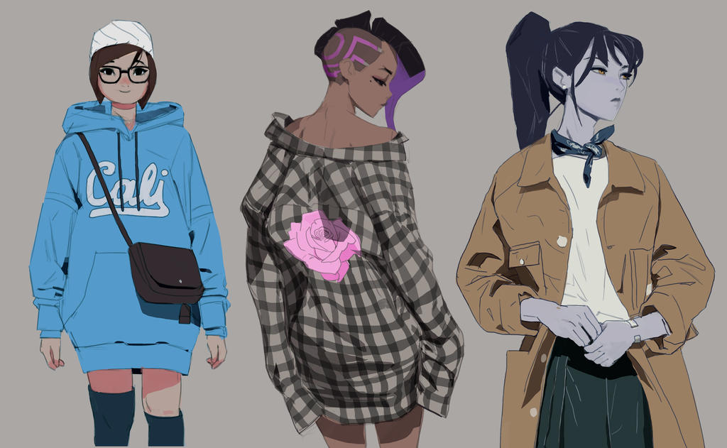 Overwatch fashion week 2 by samuelyounart