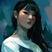 Seulgi by samuelyounart