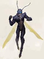 Ant Warrior by samuelyounart