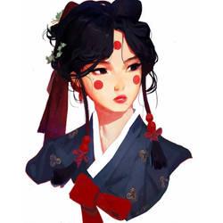 Hanbok by samuelyounart