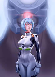 Rei Ayanami by TimVithor