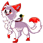 Cherrywolf pixel commision by ToonieCheckers