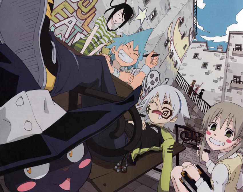 The gang by AskTsubaki-Chan