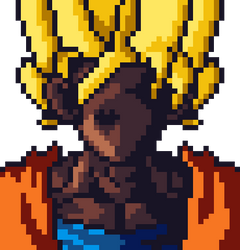Black Goku by HDview