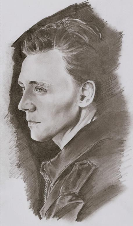 Tom Hiddleston (WIP)? by Junjeeaieyu