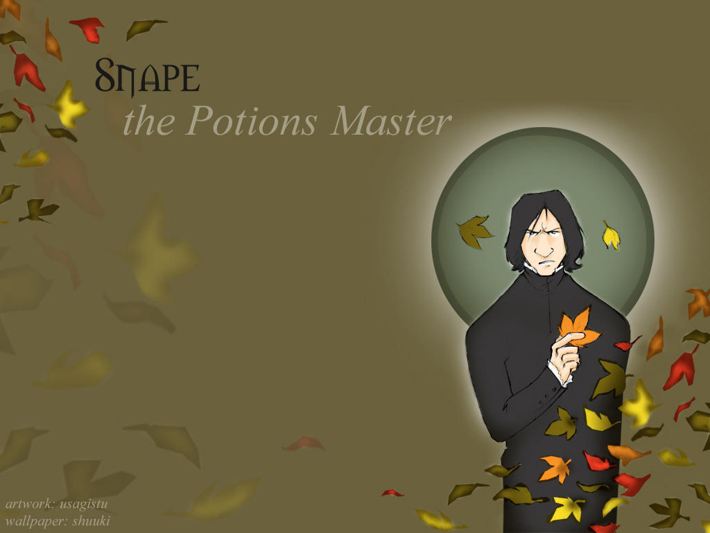 Fall Snape Wallpaper by usagistu