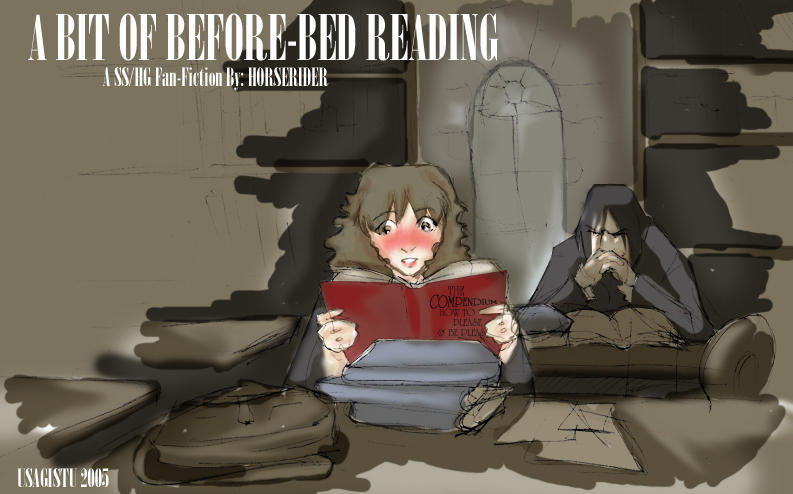 A Bit of Before Bed Reading by usagistu