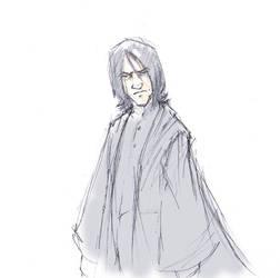Solemn Severus by usagistu