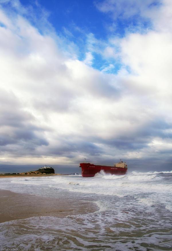 Beached III by Darth-Marlan
