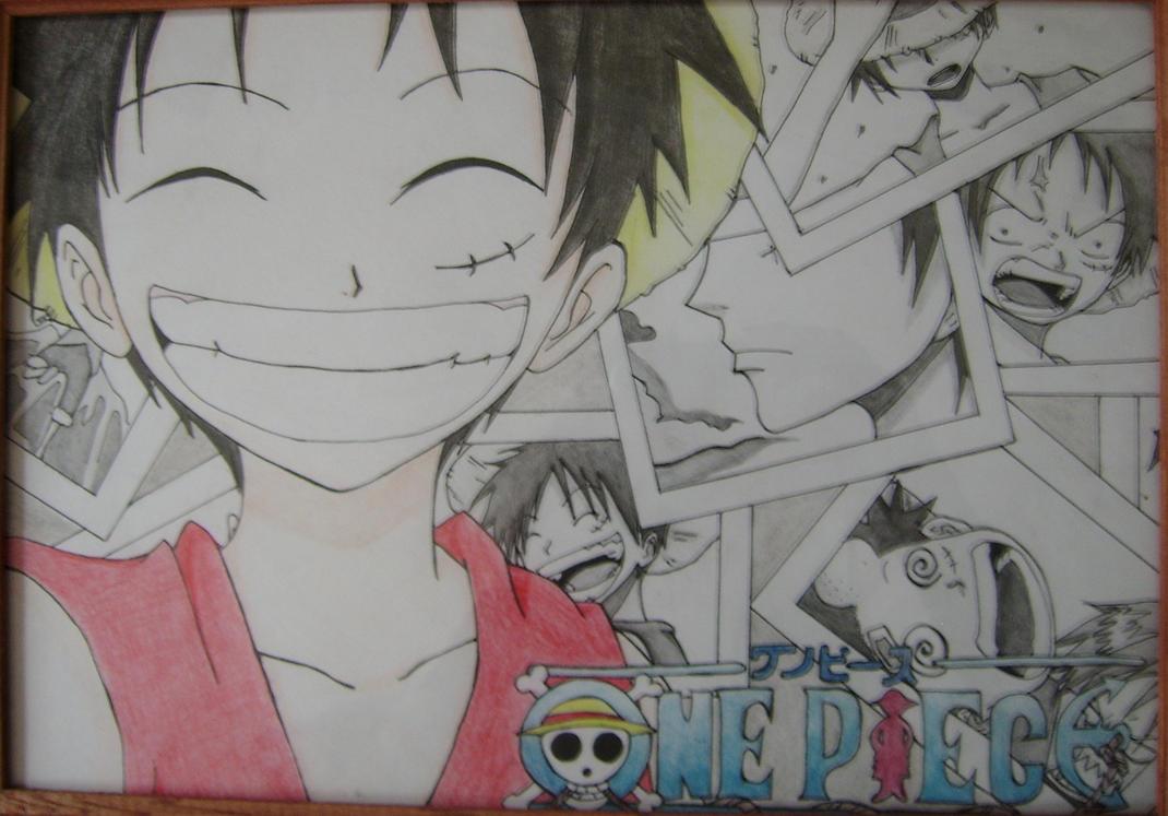 Monkey D. Luffy by Kimoto-chan