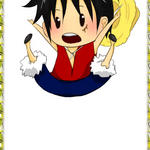 Luffy Jumping by Kimoto-chan