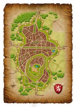 WoT - Caemlyn Map