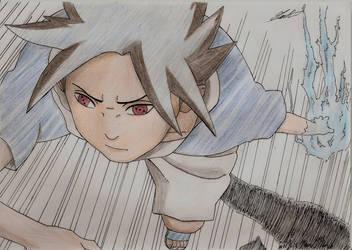 Uchiha Sasuke : Naruto die ! by Aurore-Yoan