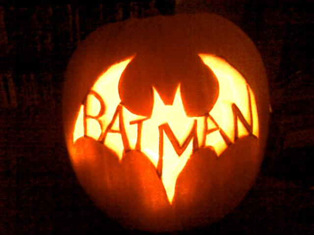 BATMAN - pumpkin by Crow-Dreamer