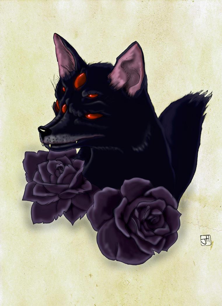 Lady Wolf. by Crow-Dreamer