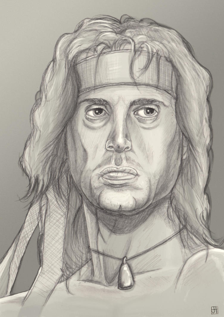 Rambo Scribblessss. by Crow-Dreamer