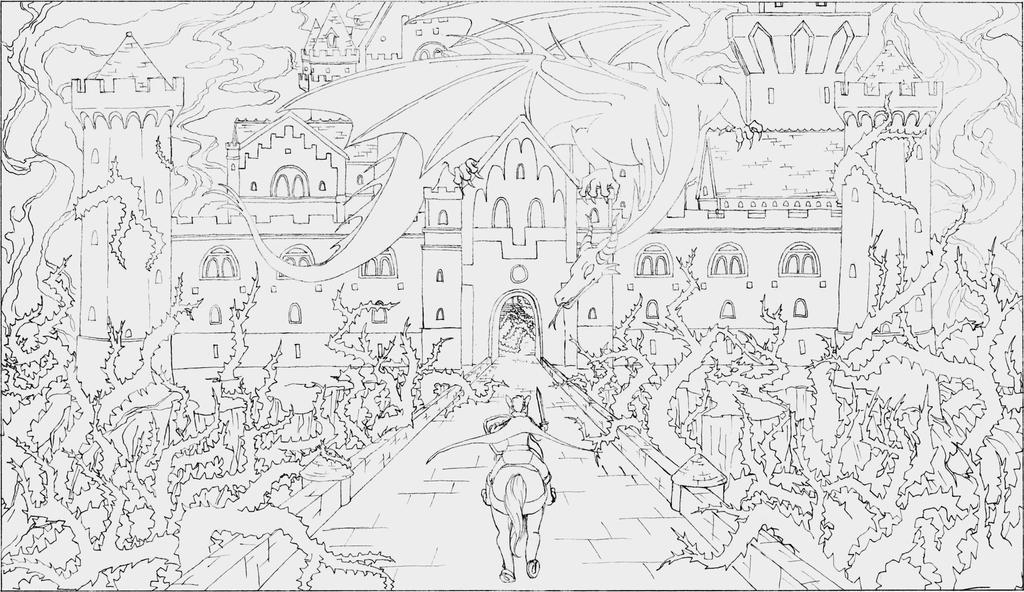 Sleeping Beauty's Castle by Sorahari-chan