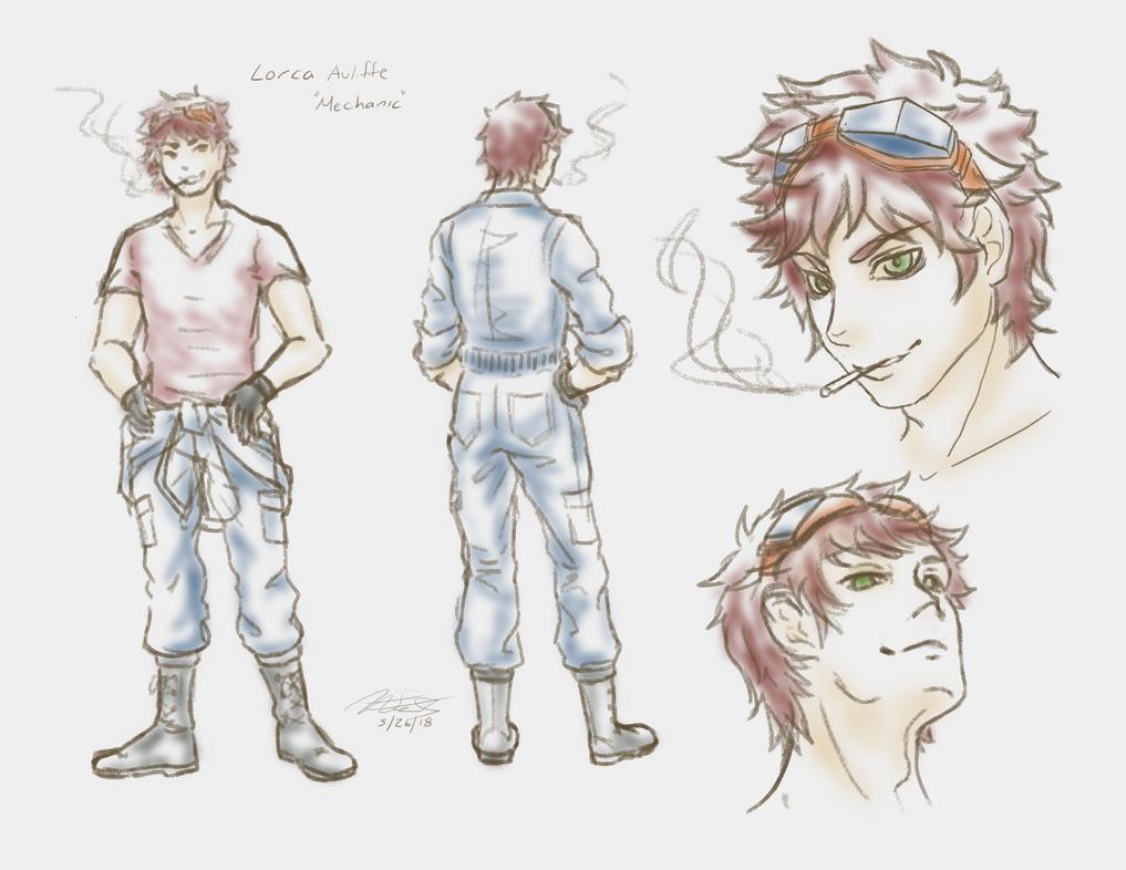 Lorca ReDesign by Sorahari-chan