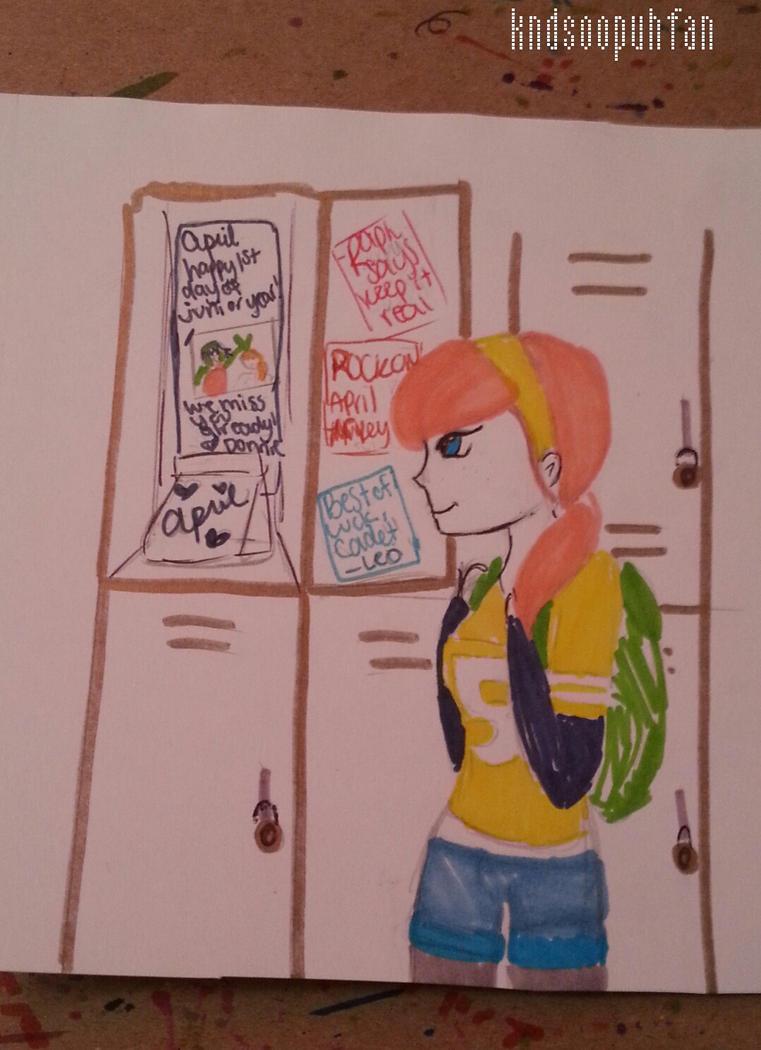 April's Locker by kndsoopuhfan