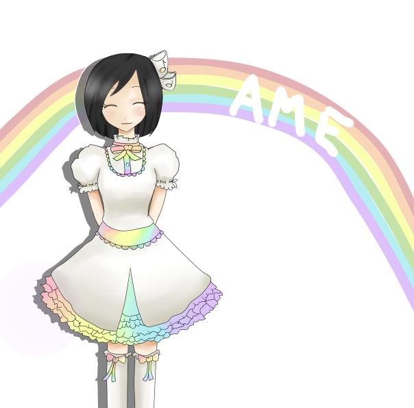 Ame's New Dress Ame_Hanakasa_by_koolit13