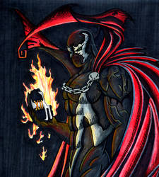 Spawn with Disciple's Head
