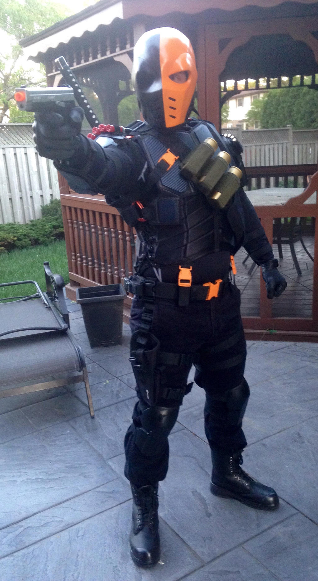 deathstroke arrow cosplay -#main