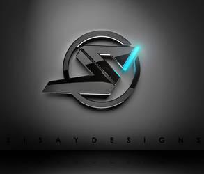 my 3D logo - S