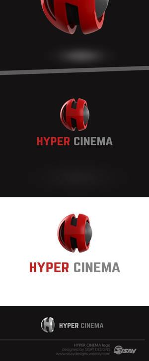 HYPER CINEMA - Logo design