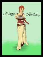 Birthdaycard by Sithilia